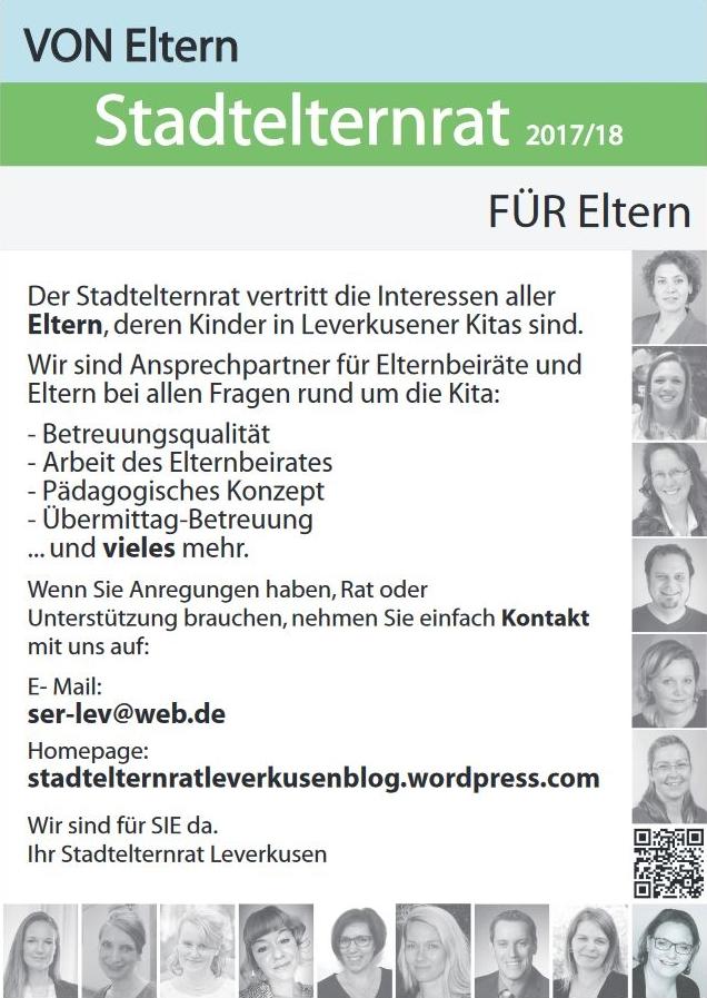 Stadtelternrat Leverkusen 2017/2018